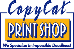 CopyCat Print Shop Old Logo